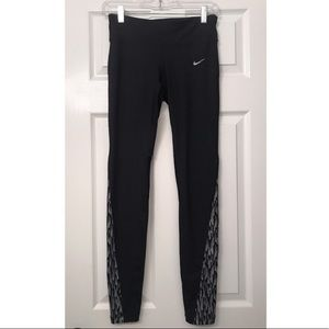 NWOT Nike Dri-Fit Black Running Legging
